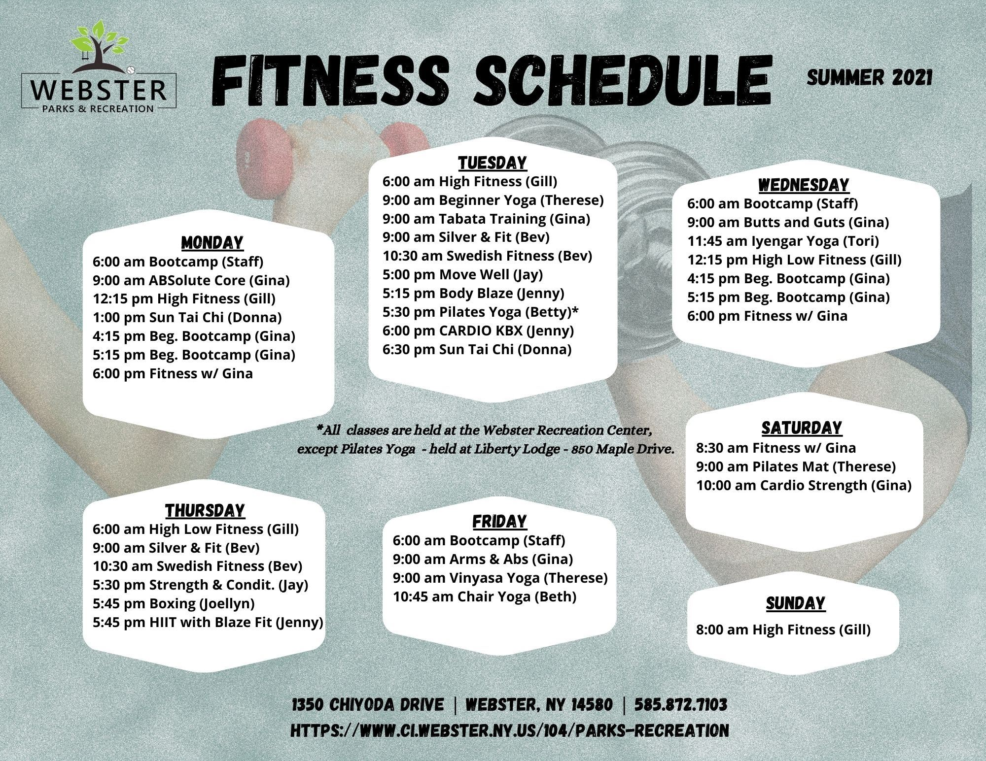 Fitness Schedule SUMMER 2021 JPG